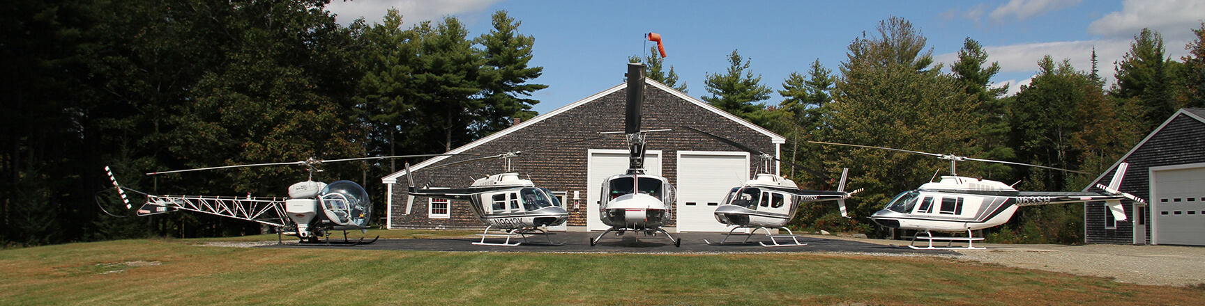 Maine Helicopters, Inc.'s fleet.
