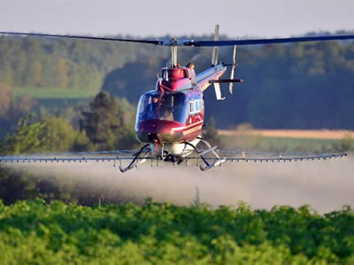 Maine Helicopters for agriculture, forestry and crop protection.
